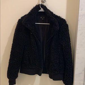 Fuzzy Zara Jacket